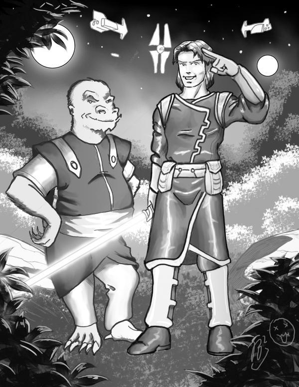Zayne and Griff by JoaoRodrigoBaptista