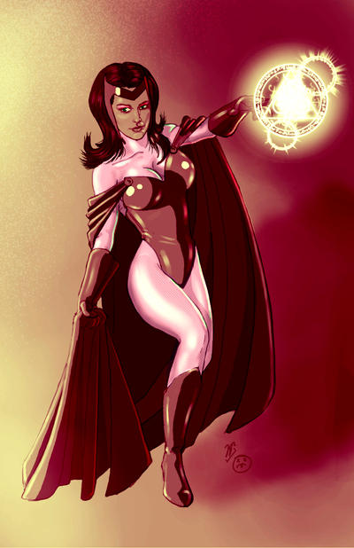 Scarlet Witch by JoaoRodrigoBaptista