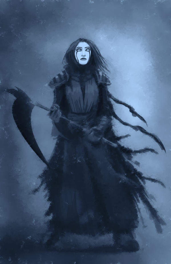 Mourning Widow by JoaoRodrigoBaptista