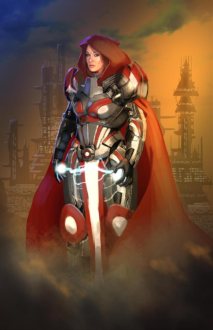 Crimson Templar by JoaoRodrigoBaptista