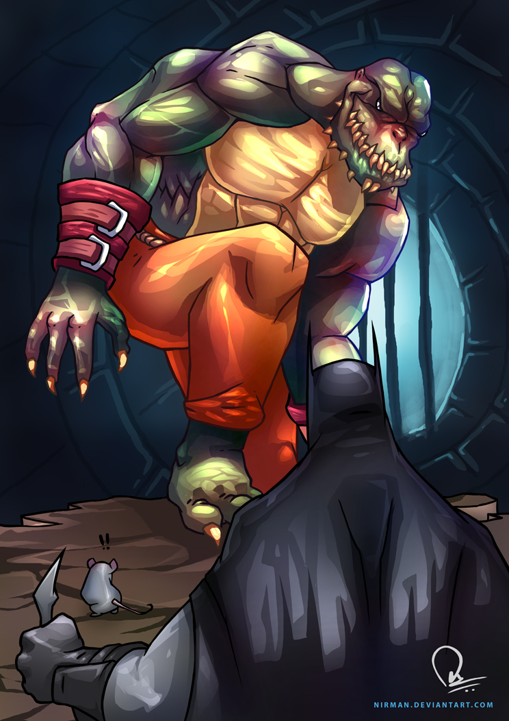 Killer Croc - Finally we meet by nirman