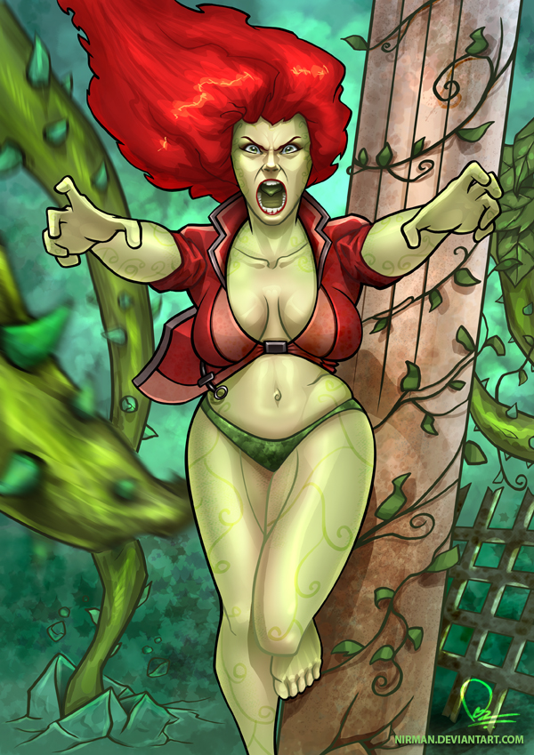 Wrath of the Ivy - colored by nirman