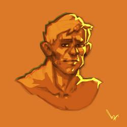 a 15 min. sketch on iPad Pro