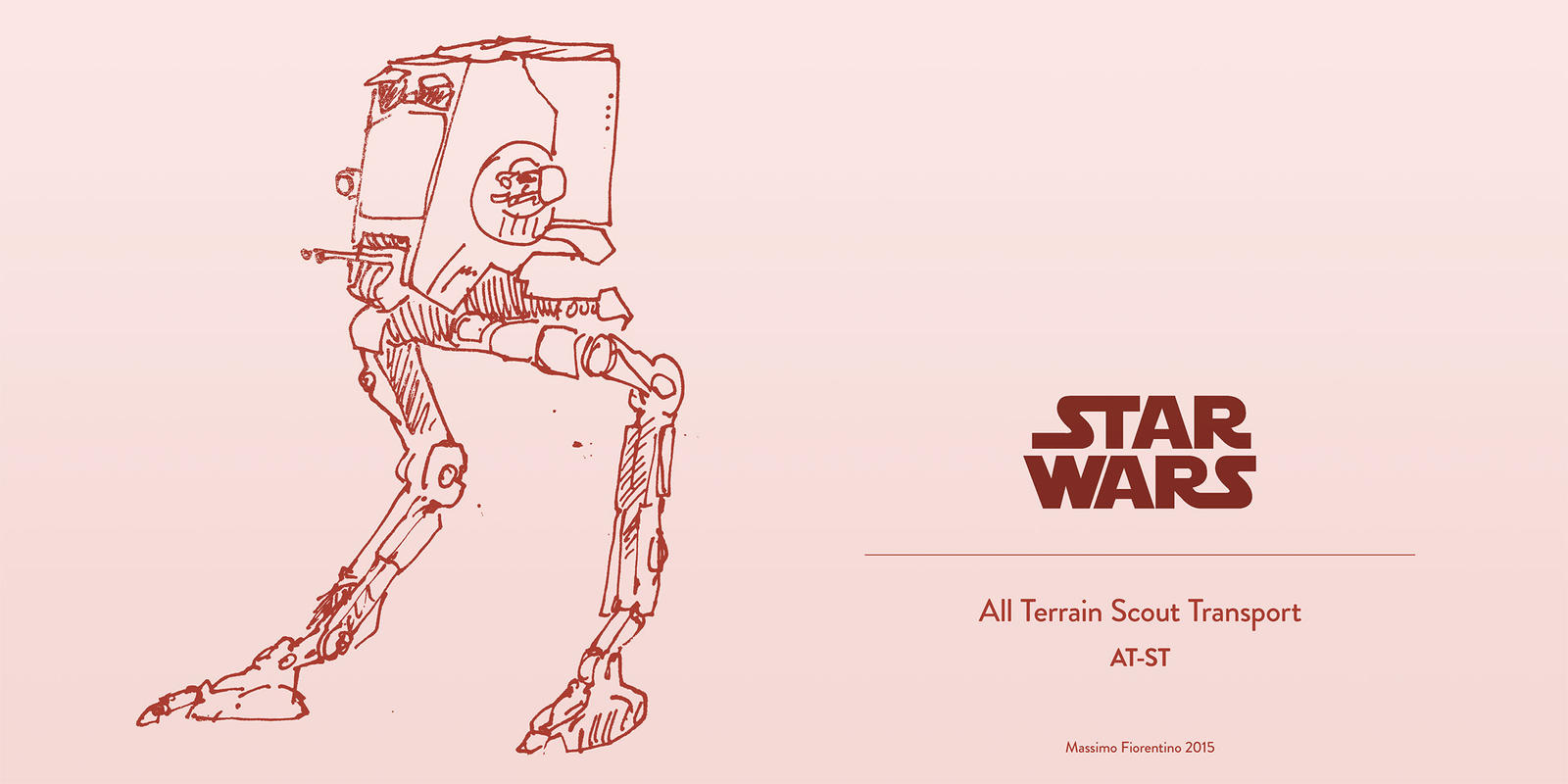 Star Wars All Terrain Scout Transport AT-ST