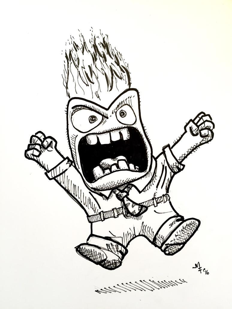 Anger by mfiorentino
