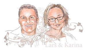 Lars and Karina by mfiorentino