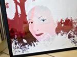 Hanne - framed