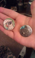 Pony Buttons by HelicityPoni
