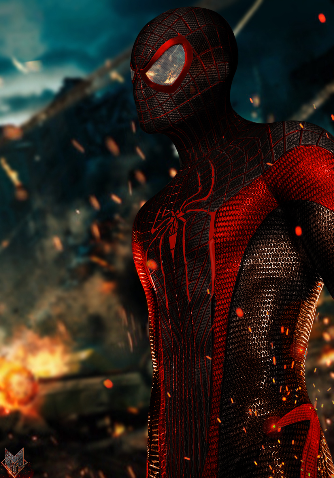 Miles Morales- Ultimate Spider-Man. by spidermonkey23 on ...