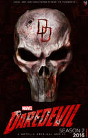 Daredevil season 2 poster. by spidermonkey23