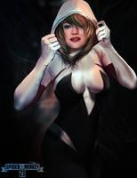 Spider-Gwen by spidermonkey23