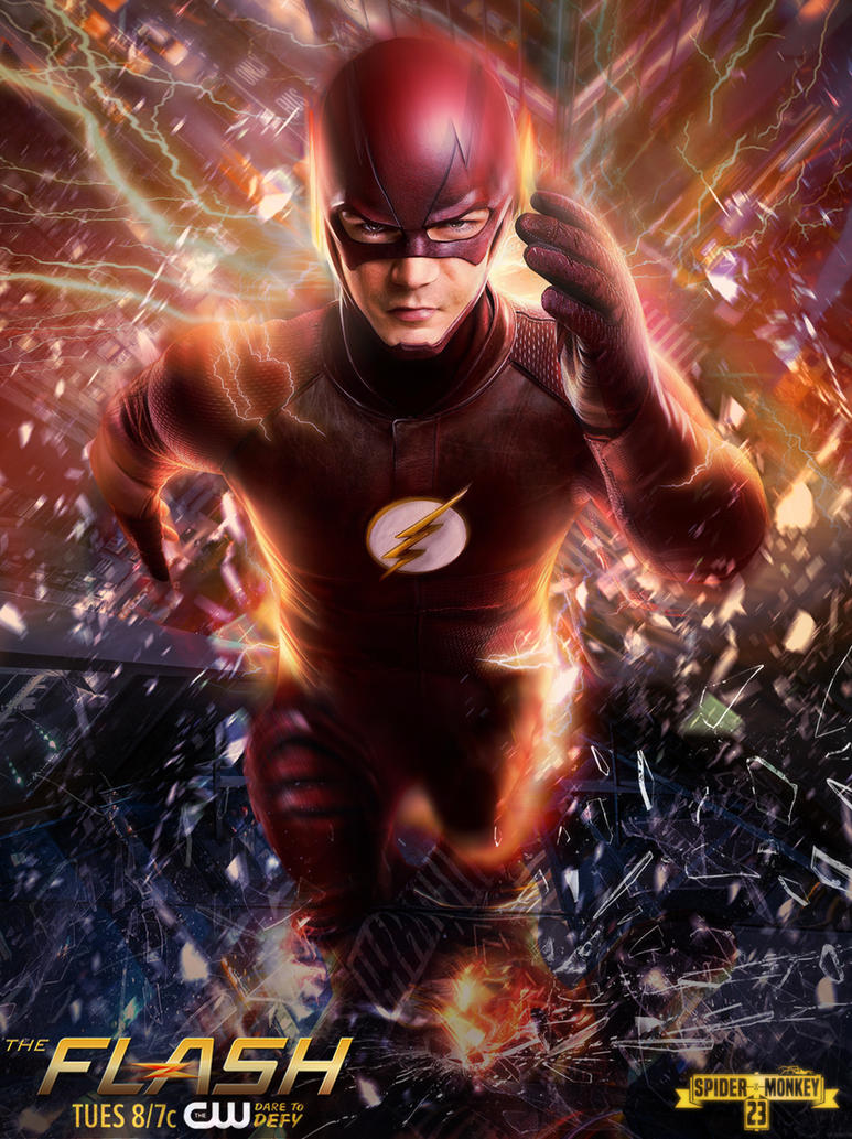 Bekend The Flash season 2 poster by spidermonkey23 on DeviantArt @WV76