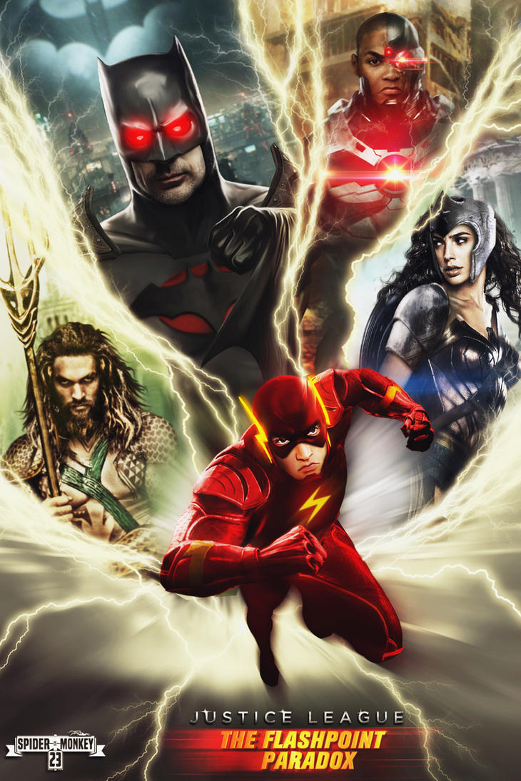 Justice League: The Flashpoint Paradox poster. by spidermonkey23