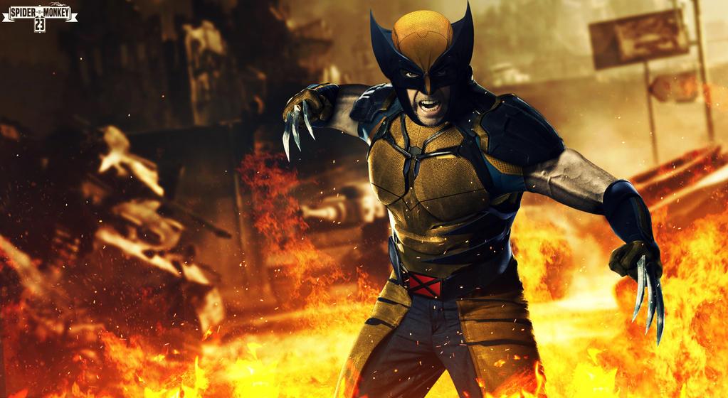 Wolverine classic suit. by spidermonkey23 on DeviantArt