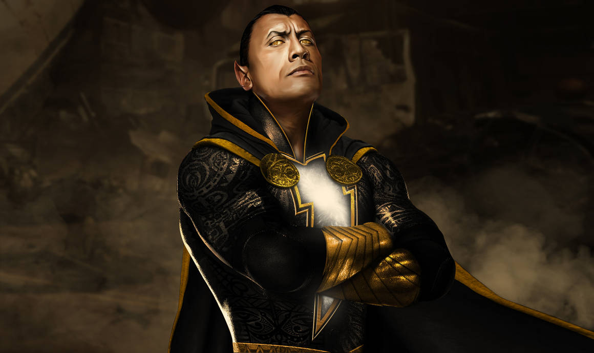 Dwayne The Rock Johnson - Black Adam. by spidermonkey23