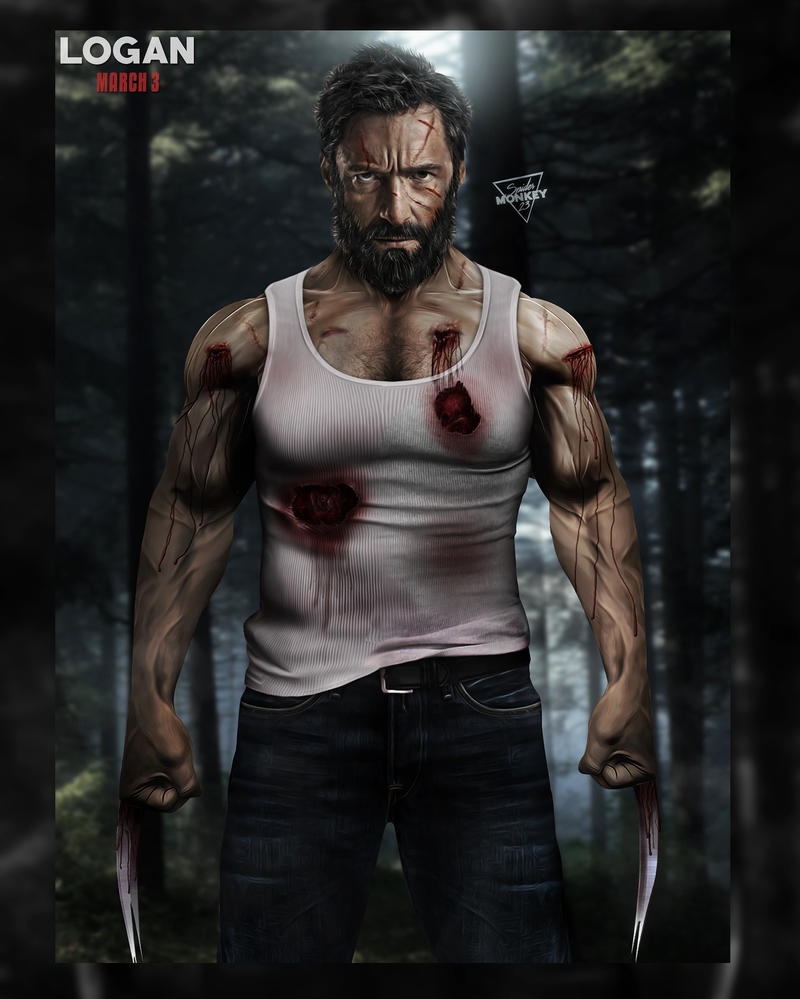 LOGAN poster by spidermonkey23