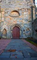 Culross Abbey Door by Beef-Stock