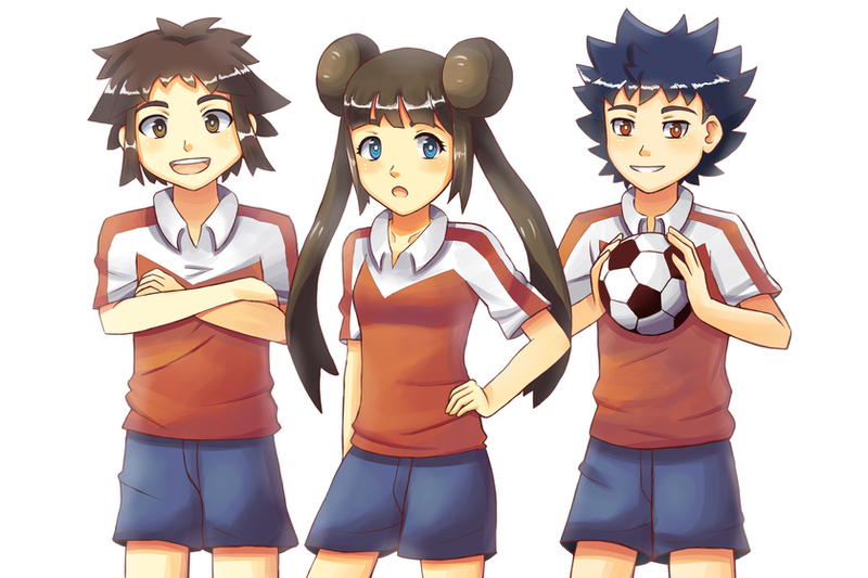 Let's play football! by Mack-chan