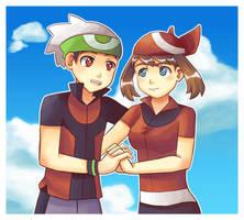 Brendan and May by Mack-chan