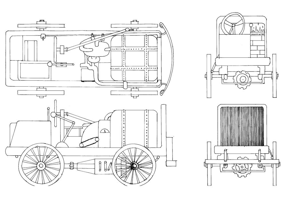 Steam-Powered Car Blueprint by SonicSpirit128 on DeviantArt