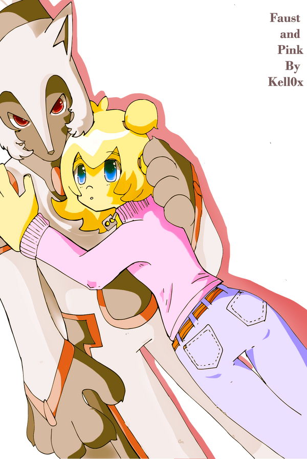 Faust and Pink by Kell0x