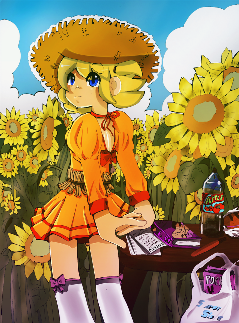 Pink -Sunflowers- by Kell0x