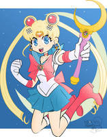 Sailor Moon -3rd prize- by Kell0x