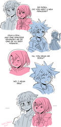 Remind me of a princess -KH Comic- by Kell0x