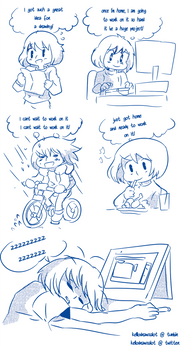 Tootired -comic-