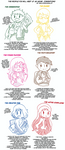 The people you will meet an an anime convention by Kell0x