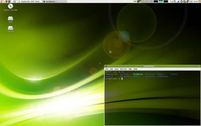 Ubuntu Gutsy by alexeyten