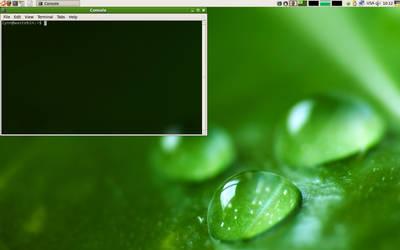 Ubuntu 7.04 Feisty Fawn. Work by alexeyten