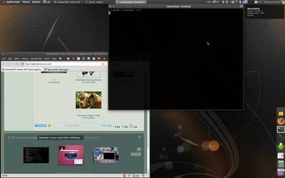 Ubuntu 9.04 Jaunty Jackalope by alexeyten