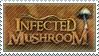 Infected Mushroom Stamp