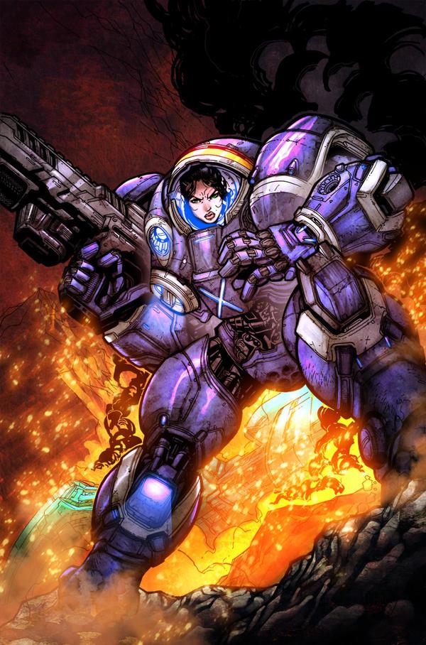 starcraft space marine artwork - photo #8