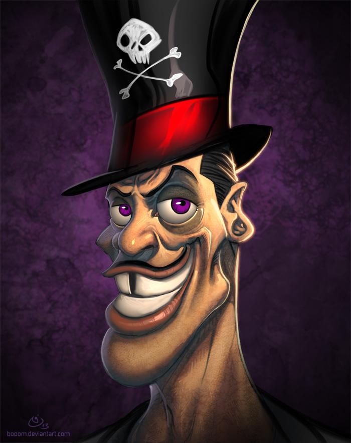 Disney Villains Dr. Facilier by NicChapuis on DeviantArt Disney Princess Face Paint