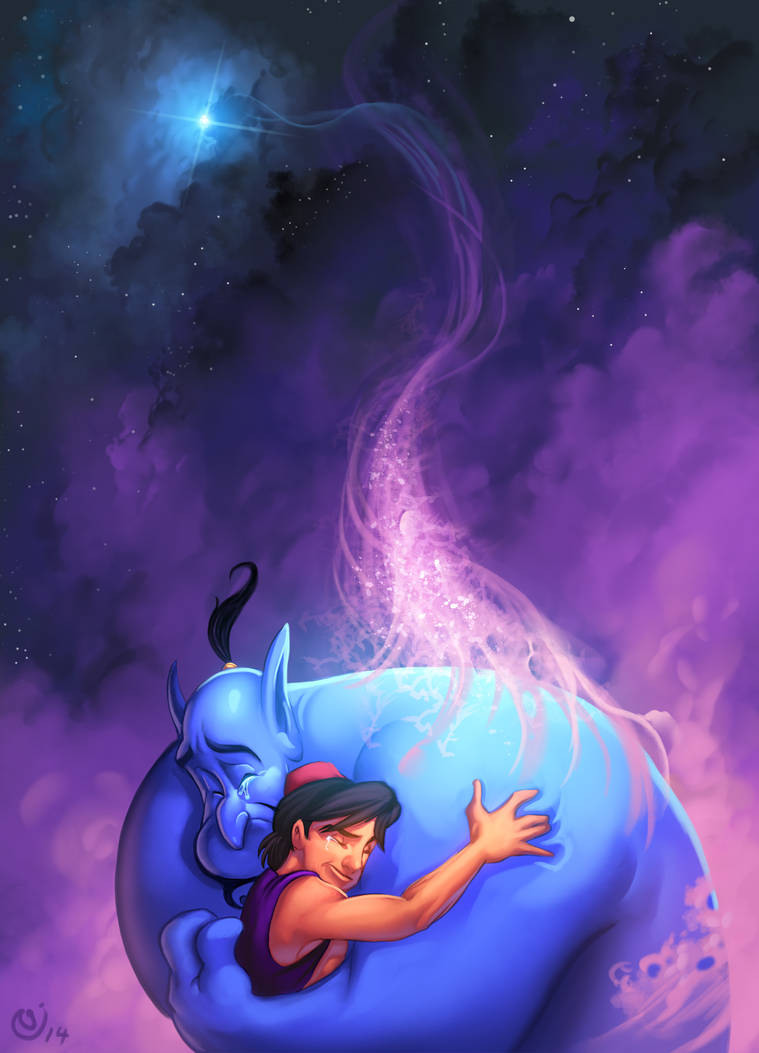 Tribute to Robin Williams by NicChapuis