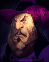 Disney Villains Governor Ratcliffe REMASTERED by NicChapuis