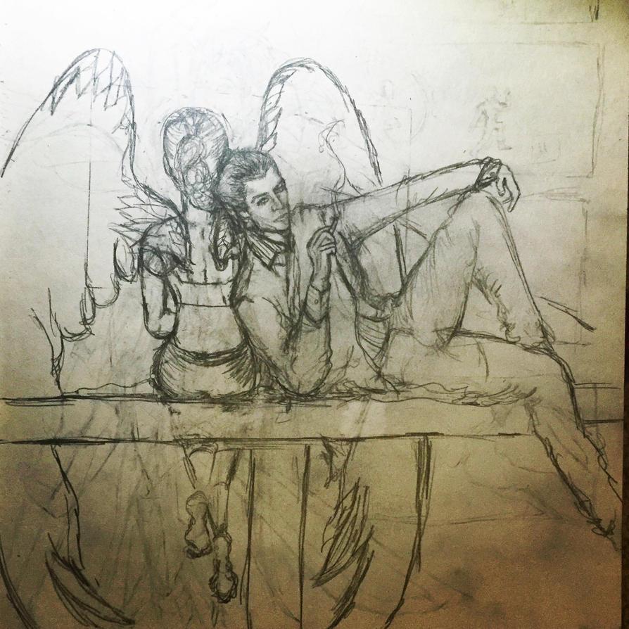 Sketch by killerdevadasi30