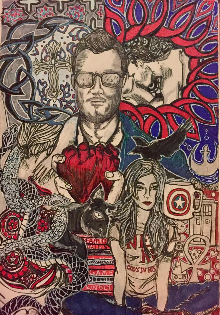 Dreams in comic book panels by killerdevadasi30