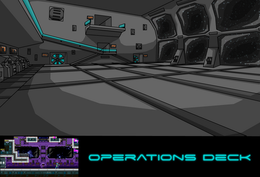 (Metroid Infusion) Operations Deck Concept Art