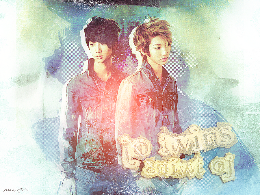 Jo Twins: Denim Splatter by aethia321