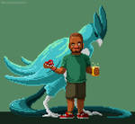 Kalil and Articuno
