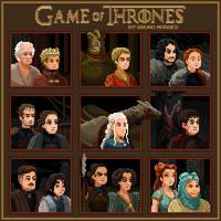 Game of Thrones by bbrunomoraes