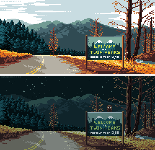 Twin Peaks: 1/2 by bbrunomoraes