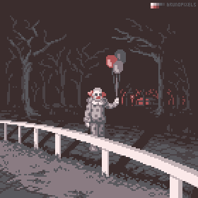 Day 1 - Clown by bbrunomoraes