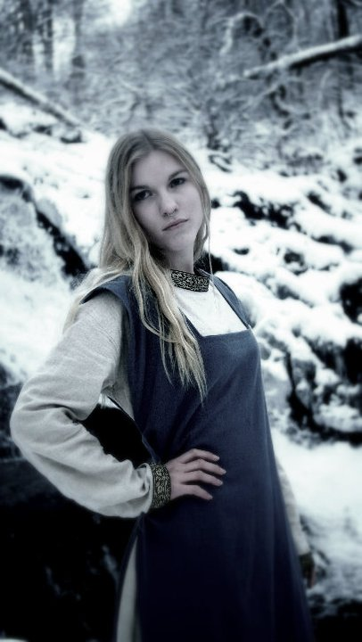Viking Dress by HrafnTurn