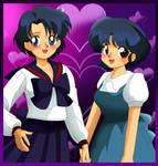 Ami and Akane by killzone667