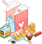 My happy meal set Icon by Pikuniku