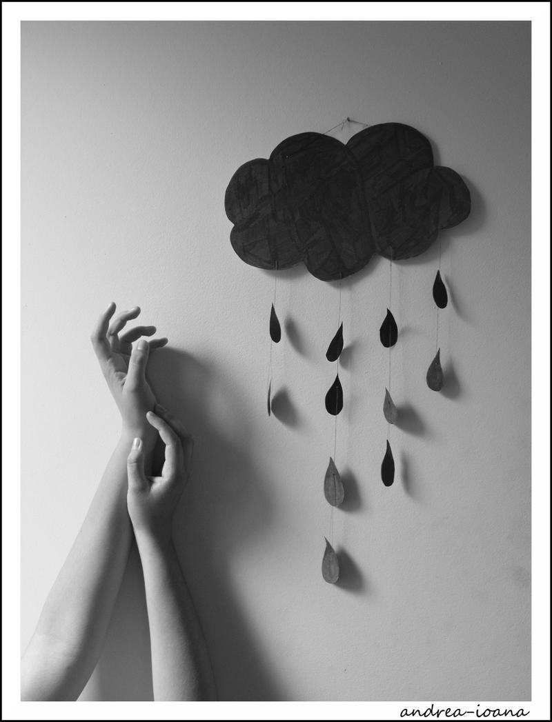 I can't stop the rain by andrea-ioana